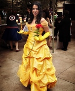 Belle, Beauty and the Beast Homemade Costume