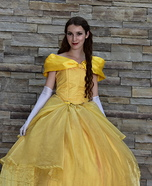 Belle of the Ball Homemade Costume