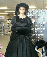 Belle - Scrooge's Girlfriend Homemade Costume