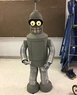 Bender Homemade Costume