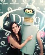 Bender from Futurama Homemade Costume