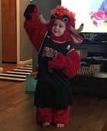 Benny the Bull Homemade Costume
