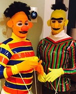 Sesame Street Bert and Ernie Costumes