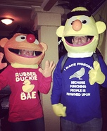 Bert and Ernie Homemade Costume