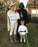 Best family in the Galaxy Homemade Costume