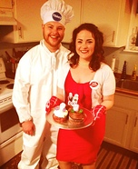 Betty Crocker & Pillsbury Doughboy Costume
