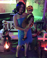 Betty Rubble and Bam Bam Homemade Costume