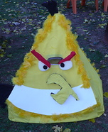 Yellow Angry Bird Homemade costume
