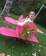Bi-Plane Homemade Costume