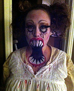 Big Mouth Doll Costume