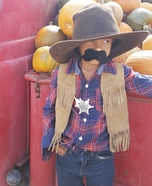 Big Bad Sheriff Homemade Costume
