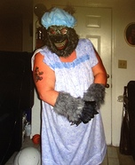 Big Bad Wolf Homemade Costume
