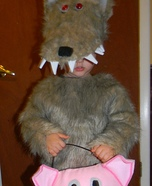 Cutest Halloween costumes for babies - Homemade Big Bad Wolf Costume