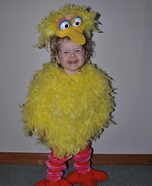 Big Bird Baby Homemade Costume