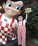 Big Boy from Big Boy Restaurants Homemade Costume