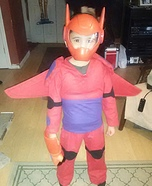 Big Hero 6 Baymax Homemade Costume