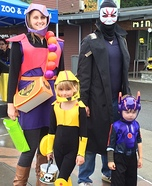 Big Hero 6 Family Homemade Costume