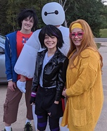 Big Hero 6 Family Homemade Costume
