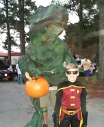 Big Juvenile T-Rex Homemade Costume