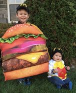 Big Mac and Small Fry Homemade Costume