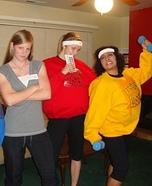 Biggest Loser and Jillian Michaels Group Costume