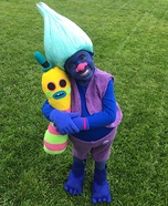 Biggie from Trolls Homemade Costume