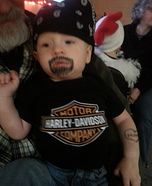 Infant Biker Dude Costume