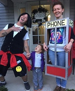 Bill and Ted's Excellent Adventures Homemade Costume