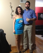 Billy Mays and Oxi Clean Homemade Costume