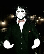 Billy the Jigsaw Puppet Homemade Costume