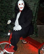 Billy the Puppet Homemade Costume