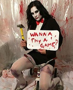 Billy the puppet from Saw Homemade Costume