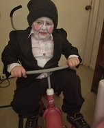 Billy The Puppet - Jigsaw Doll Homemade Costume