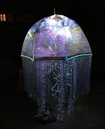 Bioluminescent Jellyfish Homemade Costume