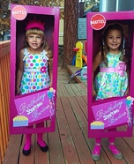 Birthday Barbie Besties Homemade Costume