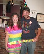 Birthday Boy & Pinata Couple Costume