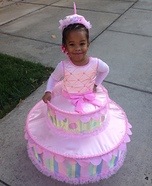 Birthday Cake with Candle Costume