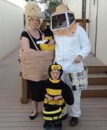 Bit-O-Honey Family Homemade Costume