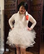 Bjork's Swan Dress Homemade Costume