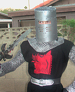 Homemade Black Knight Costume