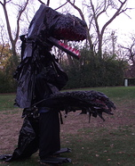 Black Dragon Costume