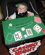 Black Jack Dealer Baby Costume