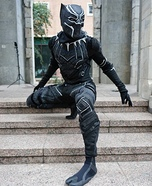 Black Panther Homemade Costume