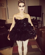 Black Swan Homemade Halloween Costume