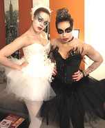 Black Swan and White Swan Homemade Costumes