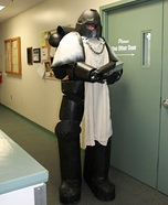 Black Templar Homemade Costume