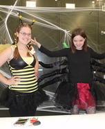 Black Widow attacks Hoverfly Costume