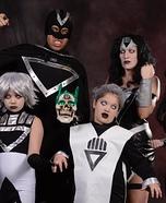 Blackest Night Family Homemade Costume