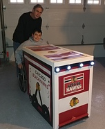 Blackhawks Zamboni Homemade Costume