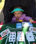Blackjack Dealer Baby Halloween Costume
